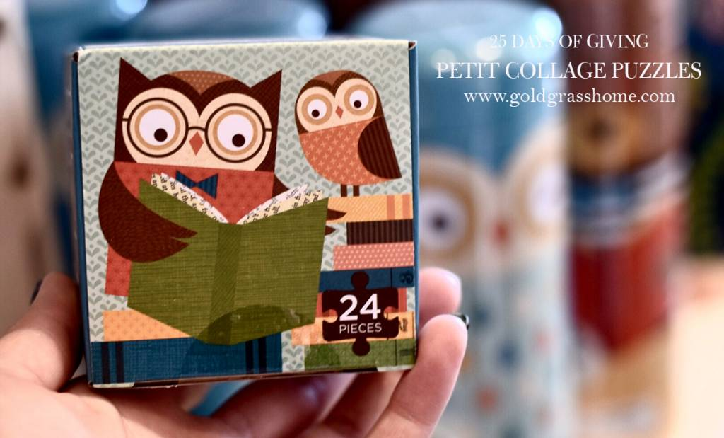 25 Days of Giving – Day 21: Petit Collage Puzzles, Games & Decor