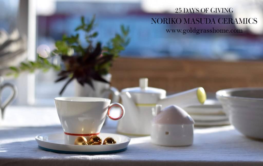 25 days of Giving – Day 15: Noriko Masuda Ceramics