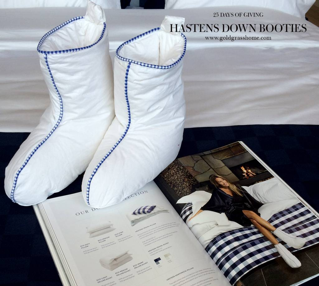 25 Days of Giving – Day 4: Hastens Down Booties