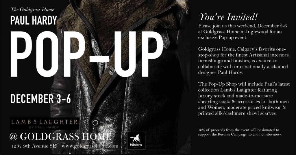The Paul Hardy Pop-up Shop @ Goldgrass Home