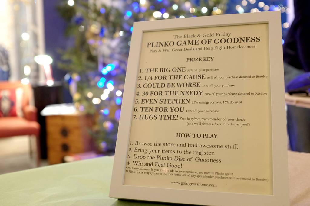 The Goldgrass Home Plinko Game Of Goodness