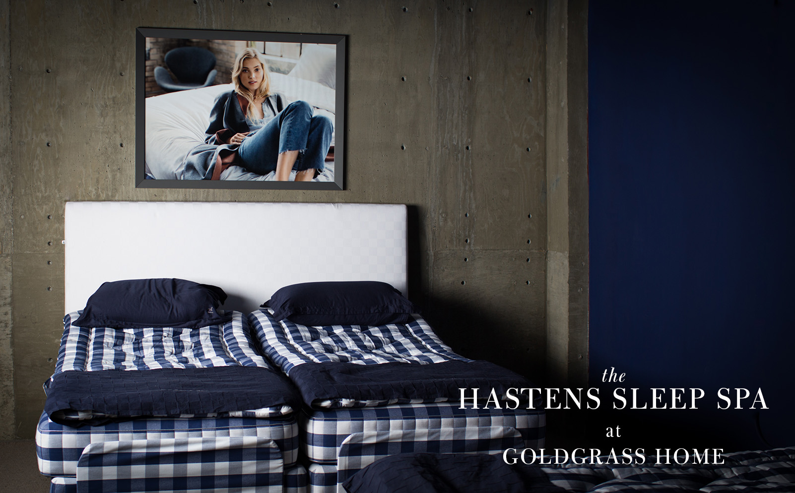 the hastens sleep spa goldgrass home. Black Bedroom Furniture Sets. Home Design Ideas