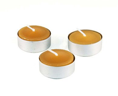 Honey Candles Honey Candles - 100% Beeswax Tealight Aluminum Cup - Single