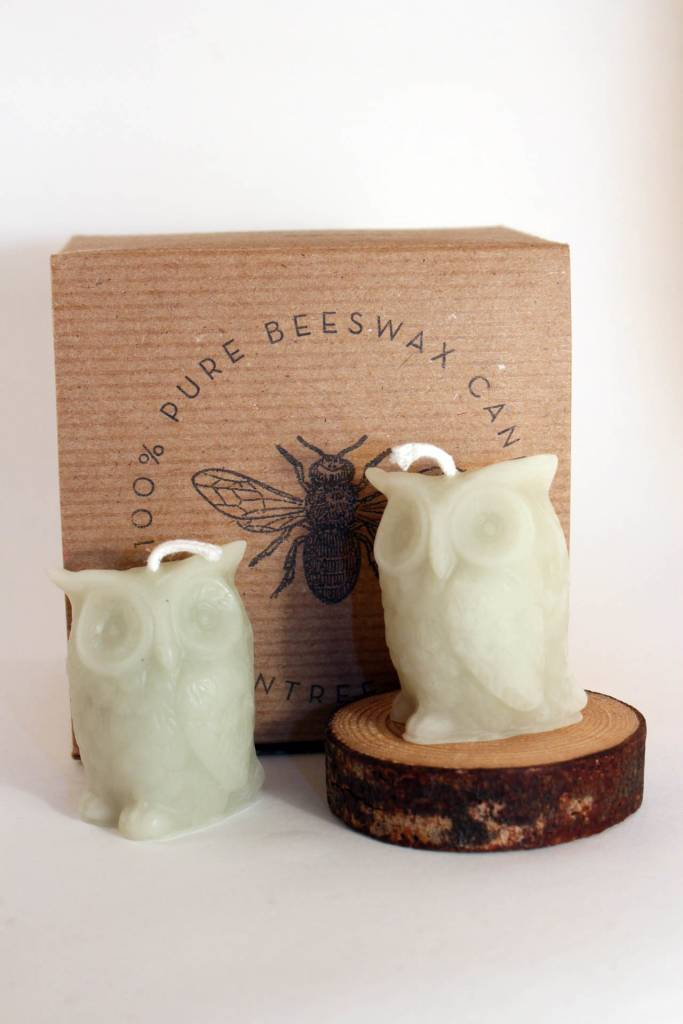 Greentree Home Greentree Owl Candles Boxed Set
