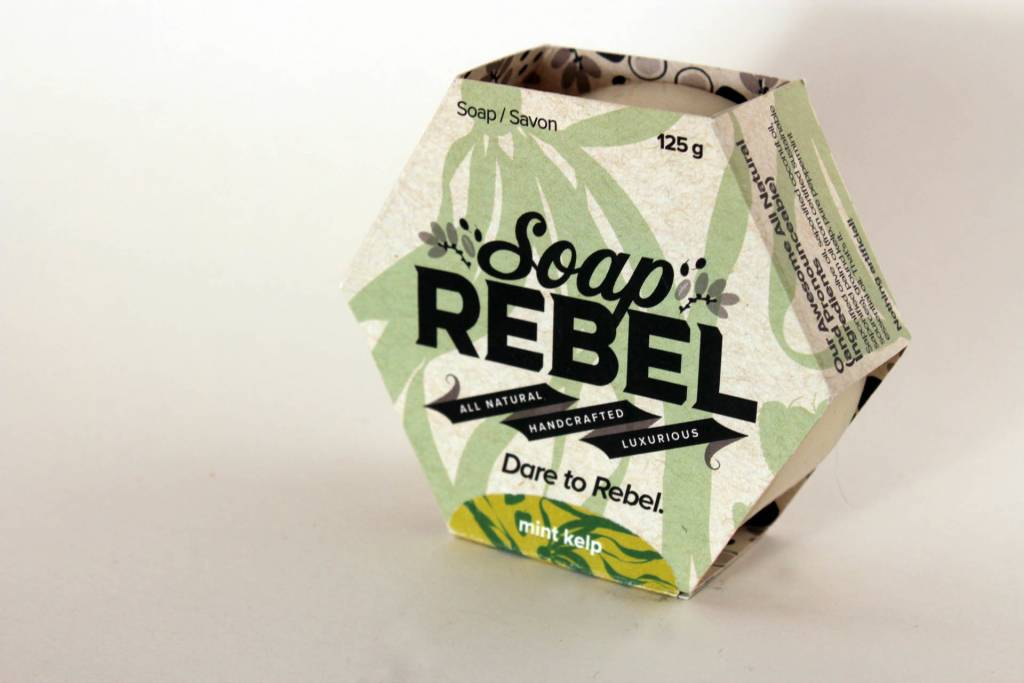 Soap Rebel - Bar Soap, 125g Mint Kelp