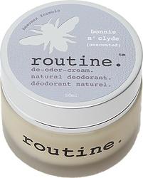 Routine Cream Deodorant - Bonnie n Clyde