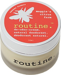 Routine Cream Deodorant - Maggie's Citrus Farm