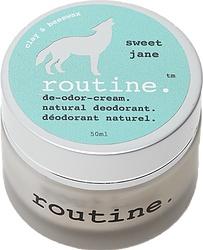 Routine Cream Deodorant - Sweet Jane