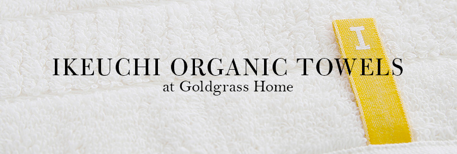 Ikeuchi organic towels goldgrass home for Home spa brand towels