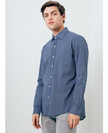 7 Diamonds Blueberry Hill Button Up