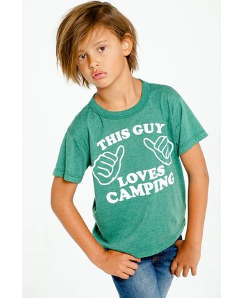 Chaser This Guy Loves Camping Tee