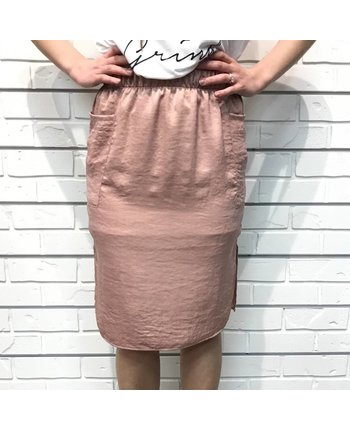 Pencil Skirt w/Pockets