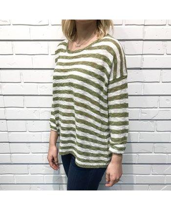 Lightweight Striped Sweater