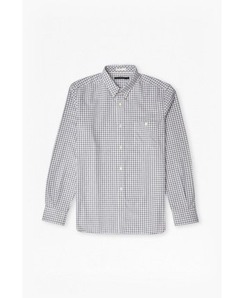French Connection Hornblendite Grindle Button Up