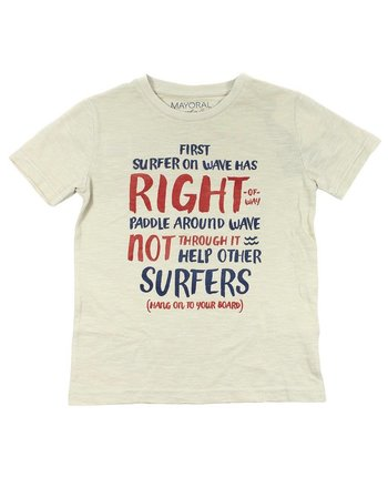 "Mayoral 3037 SS ""Right"" Tee"