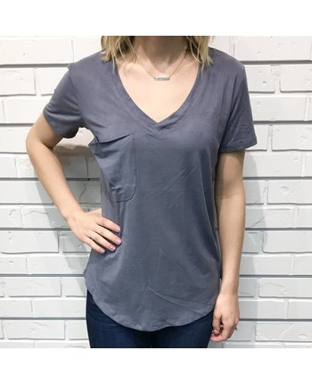 Z Supply The Suede Pocket Tee