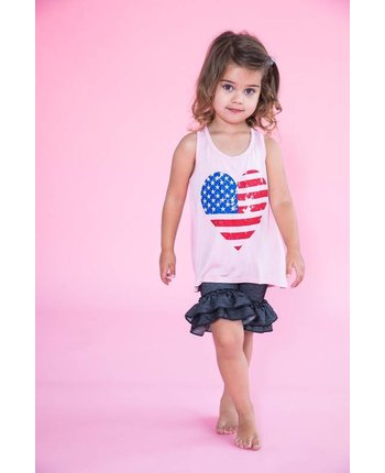 Stars and Stripes Heart Tank