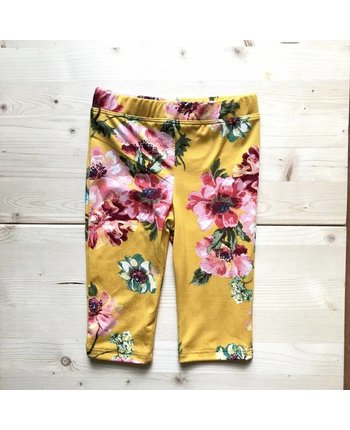 Floral Capri Legging