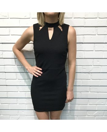 Bodycon Dress w/Open Back