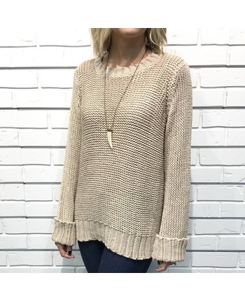 Wooden Ships Huckleberry Sweater