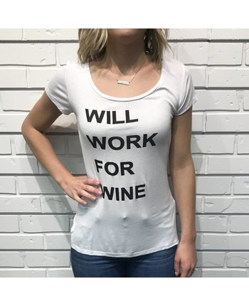 Work for Wine Graphic Tee