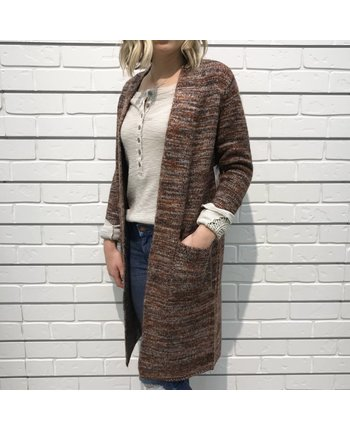 Open Long Cardigan