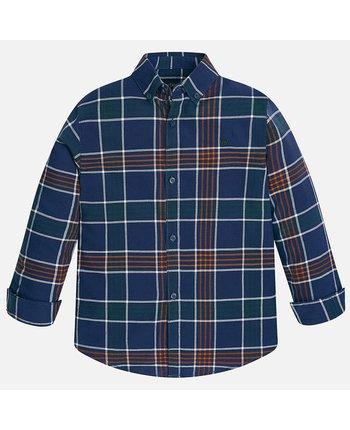 Mayoral 7135 Checked Shirt