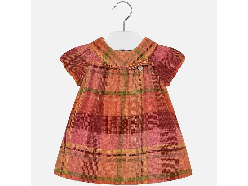 Mayoral 2949 Flannel Dress