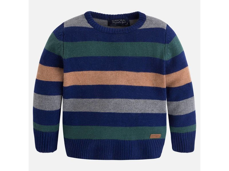 Mayoral 4309 Stripe Sweater