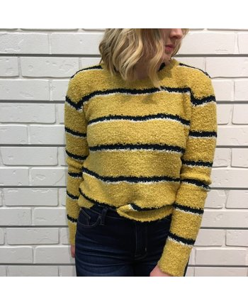 Free People Best Day Ever Stripe Sweater