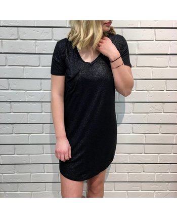 Z Supply The Shimmer Pocket T Dress