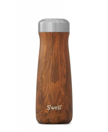 S'well 20oz Traveler Teakwood