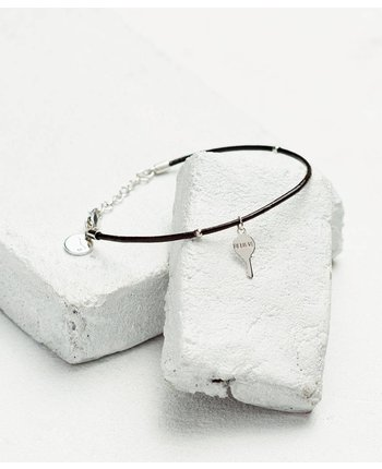 The Giving Keys Leather Cord Bracelet [more colors...]