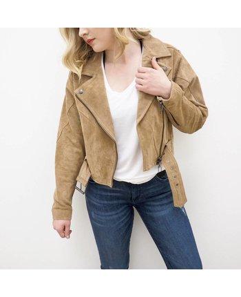 Blank NYC Dek Suede Jacket