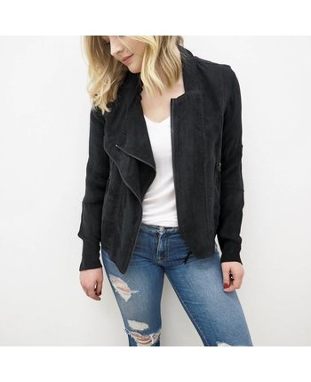 Blank NYC Wild Thing Suede Jacket