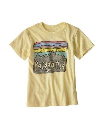 Patagonia Baby/Toddler Fitz Roy Skies Organic Tee