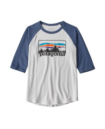 Patagonia Boys 1/2 Sleeve Graphic Tee