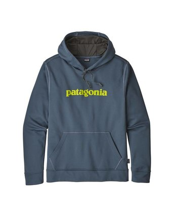 Patagonia M's Text Logo PolyCycle Hoody
