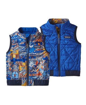 Patagonia Baby Reversible Puff Ball Vest [more colors...]