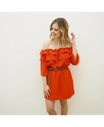 Jack by BBD Bowser Off Shoulder Dress