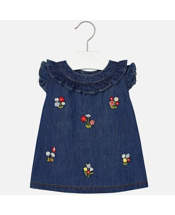 Mayoral 1946 Denim Dress