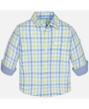 Mayoral 1172 LS Checked Shirt