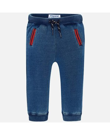 Mayoral 1550 Denim Plush Pant