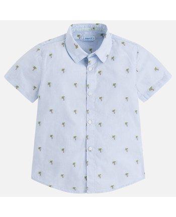Mayoral 3148 SS Palm Tree Shirt
