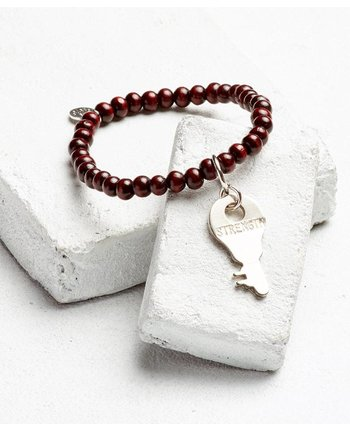 The Giving Keys Inspiration Bead Key Bracelet