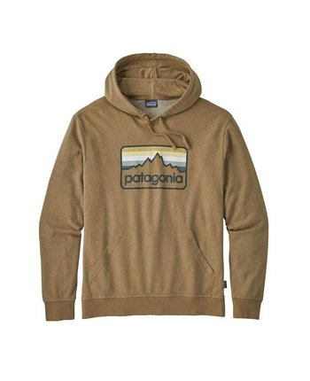 Patagonia Men's Line Logo Badge LW Hoody