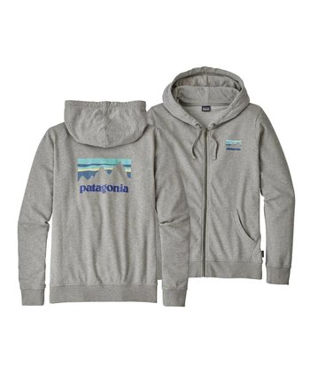 Patagonia Women's Shop Sticker LW Full Zip Hoody