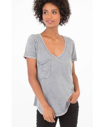 Z Supply The Washed Cotton Pocket Tee