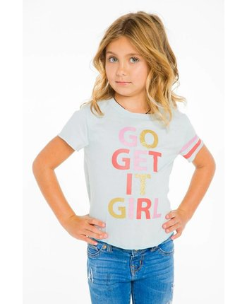 Chaser Get It Girl Jersey Tee
