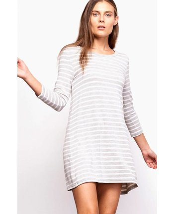 BB Dakota Adelene Stripe Dress